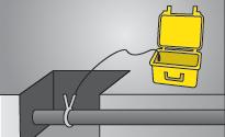 Подключение сигнального зажима